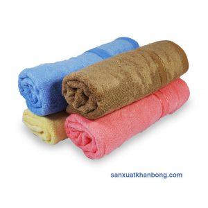 Đơn vị SX:Công ty TNHH Sản xuất dệt may Tuấn Anh  Màu sắc:Trắng, Nâu, Vàng...  Chất liệu:70% bamboo 30% cotton  Kiểu dáng:Phong phú, đẹp, thiết kế theo yêu cầu  Kích thước: 28*48