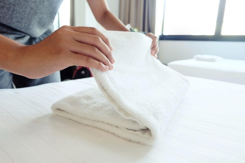 Không nên chọn mua khăn khách sạn kém chất lượng