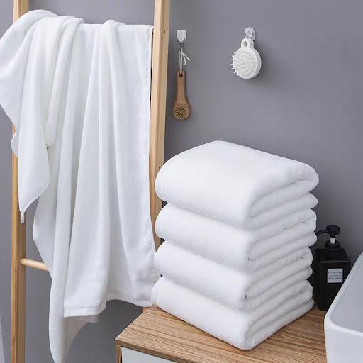 5 cách làm mềm khăn bông tắm hiệu quả