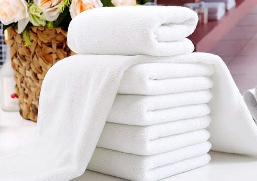 Khăn tắm khách sạn trắng - sạch - thơm tho
