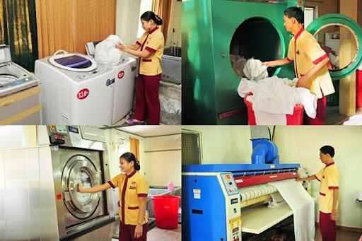 Các loại máy giặt khăn khách sạn