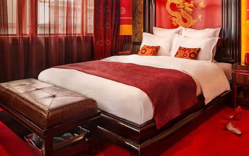 Khăn trải giường tạo điểm nhấn thẩm mỹ cho không gian