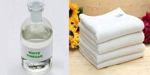 Hướng dẫn cách làm mềm khăn tắm hiệu quả