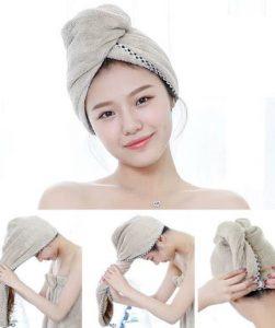 Hướng dẫn cách quấn khăn tắm lên đầu kiểu Hàn Quốc đẹp
