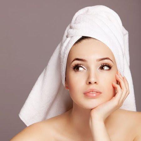Quấn khăn tắm lên đầu đẹp, tiện lợi