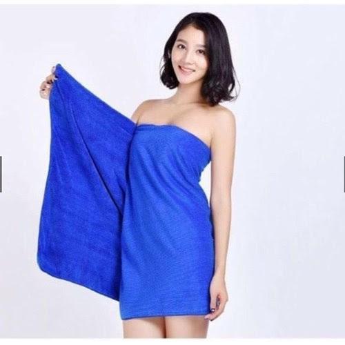 Quấn khăn tắm đẹp khi đi khách sạn, spa