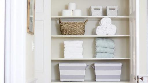 Các loại khăn tắm trong phòng tắm khách sạn